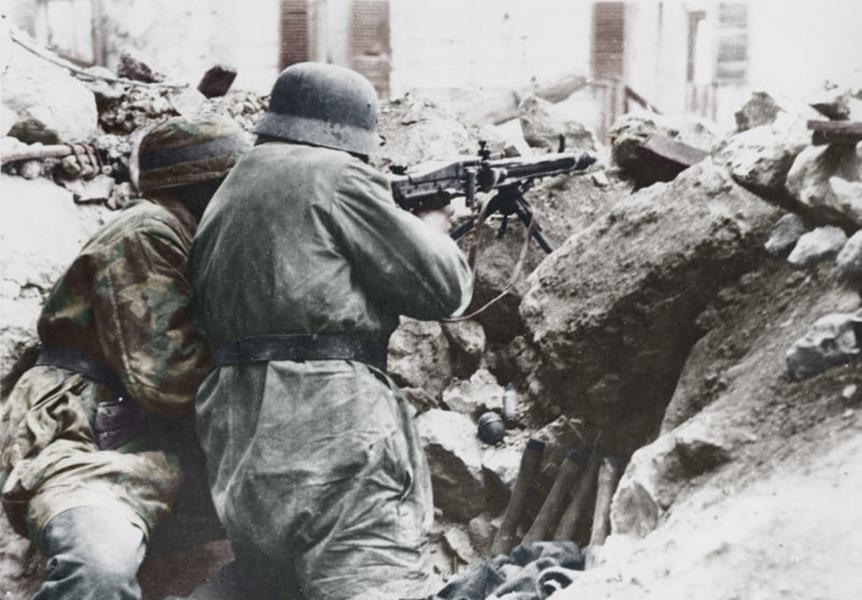 Det tyske forsvar