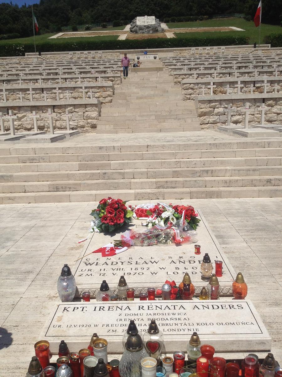 Polsk kirkegård ved Monte Cassino