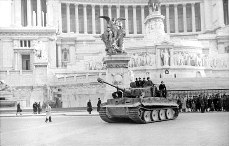 Tiger kampvogn Rom