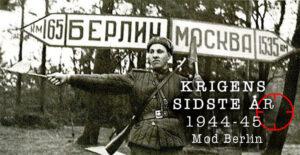 Marskal Zhukov indleder angrebet mod Berlin